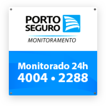PLaca Porto Seguro monitoramento