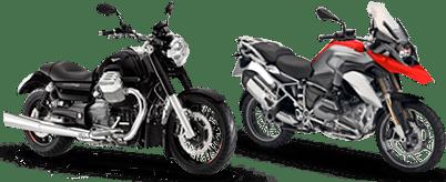 Motos a partir de 301 cilindradas